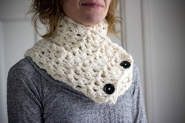 wrap neck scarf