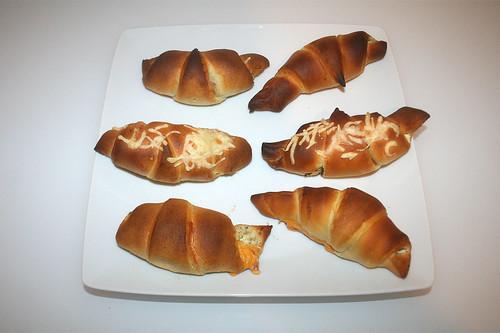15 - Gefüllte Croissants / Stuffed croissants - Serviert
