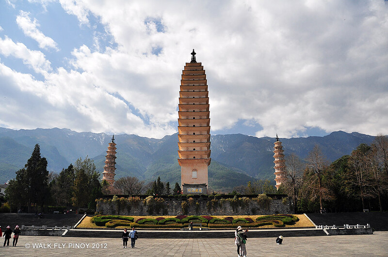 Three Pagodas Complex, Dali, Yunnan, China