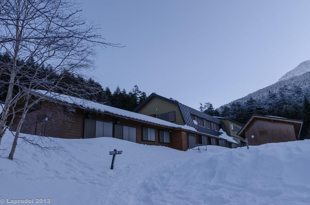 20130203 冬のオーレン小屋