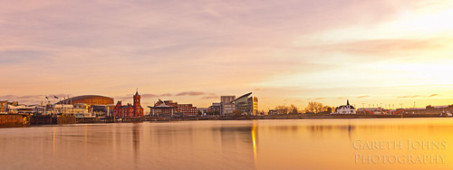 Cardiff Bay Sunrise