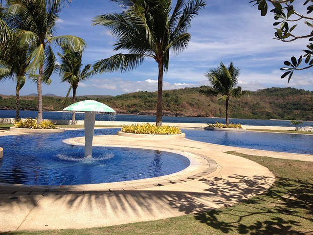 Heavenly View Of The Other Swimming Pools By The Beach At Club Punta Fuego Nasugbu Batangas