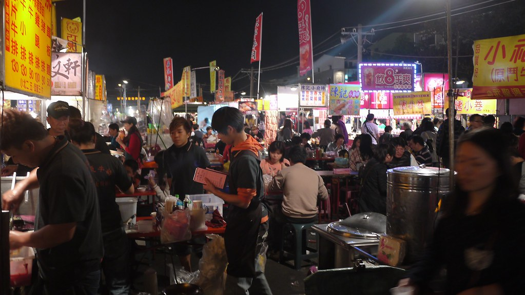 Night Market Stalls