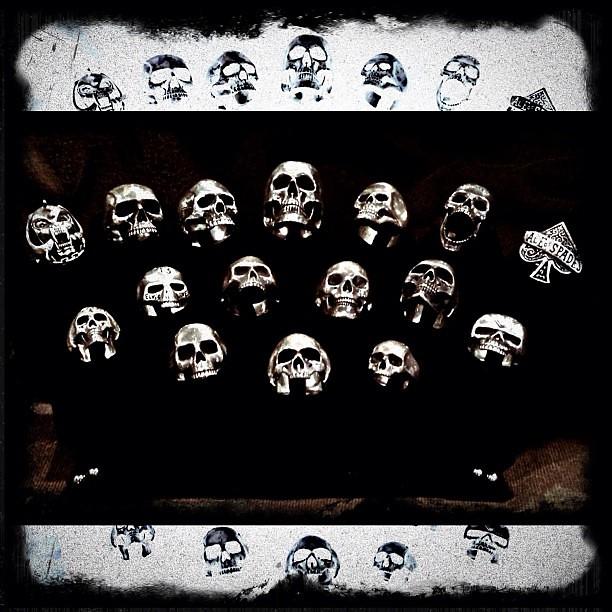 All the skulls.