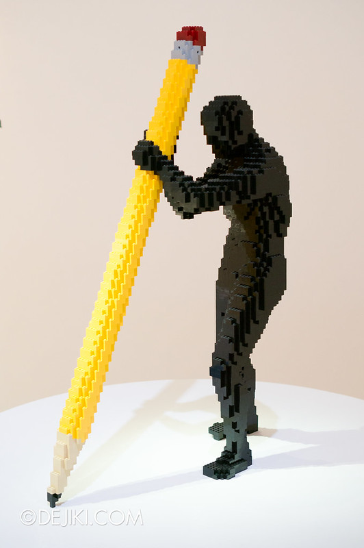 Art of The Brick - Pencil 2