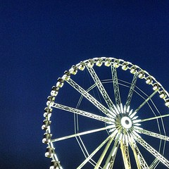 Ferris wheel at the Tuileries.