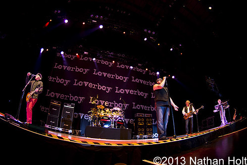 Loverboy - 02-10-13 - Allen County Memorial Coliseum, Fort Wayne, IN