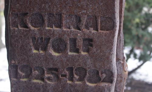 Konrad-Wolf-Stele 2