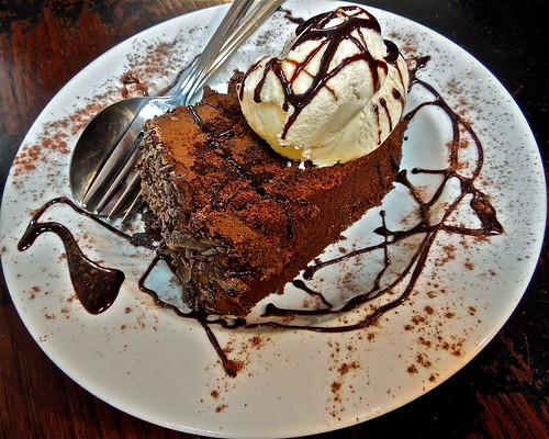 Chocolate Fudge Cake Dessert by Irene_A_