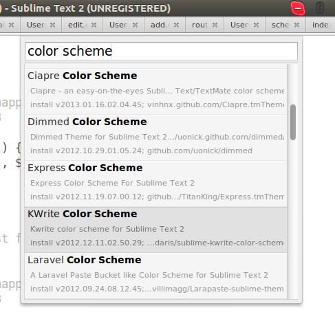 install-scheme