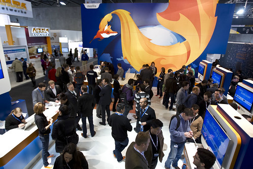 MWC Mozilla_Firefox booth