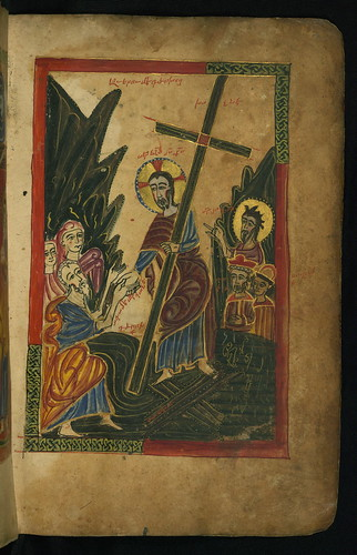 Gospel Book, Harrowing of Hell, Walters Manuscript W.540, fol. 12r by Walters Art Museum Illuminated Manuscripts