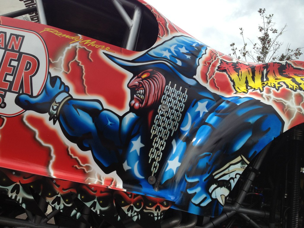 The War Wizard Monster Truck Visits Autoline