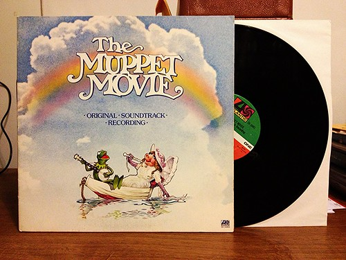 The Muppet Movie Original Soundtrack Recording LP by Tim PopKid
