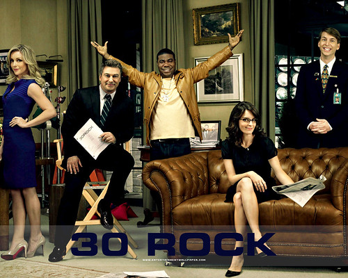 30 Rock: Sitcom sobre la experiencia de Tina Fey en Saturday Night Live