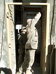 Civilian engineering team secures Soldiers' compound in Afghanistan