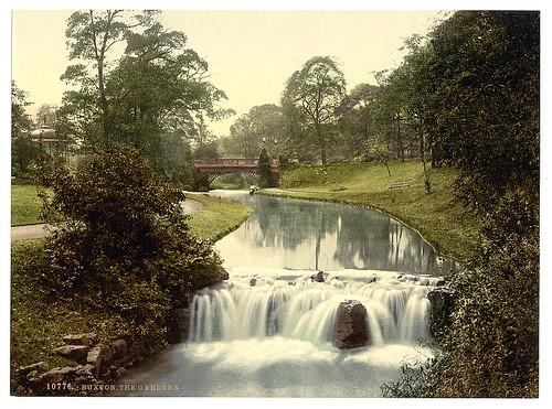 [Buxton, the gardens, Derbyshire, England]  (LOC)