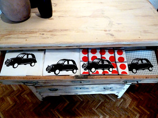 Citroën 2 CV (silk-screen printing)
