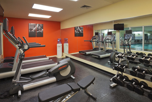 Upgraded Fitness Center