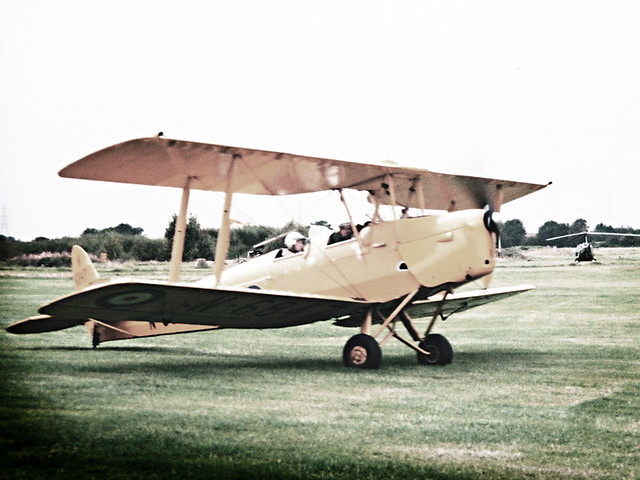 Flying a Tiger Moth