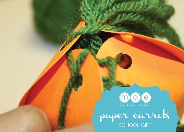 Paper Carrots - School Gift7
