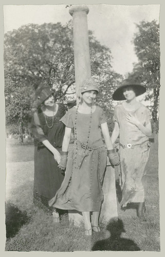 Three women at the park