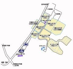 2013F1正面駐車場MAP