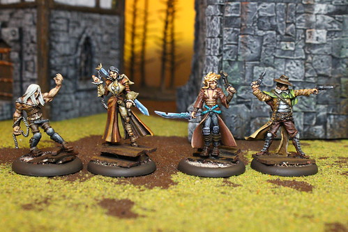 Outcast Miniatures from the popular Malifaux War Game by Wyrd Miniatures