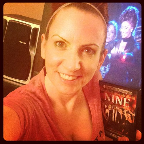 Rocking out to one of my favorite musicals, Nine, in my Sparkly Soul Headband