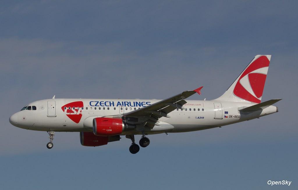 Czech Airlines (CSA) Airbus A319-112 OK-REQ (cn 4713)
