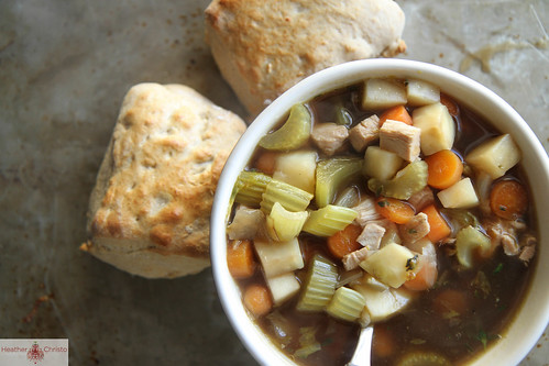 Chicken Guinness Vegetable Soup