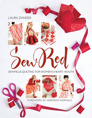 I Heart Craft Books: Sew Red, by Laura Zander