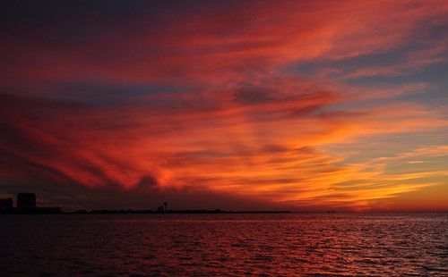 sunset usa beach gulfofmexico water night nikon wasser unitedstates florida cloudy navarrebeach santarosaisland santarosacounty emeraldcoast santarosasound d5000 fisherbray