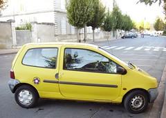 Renault Twingo I jaune