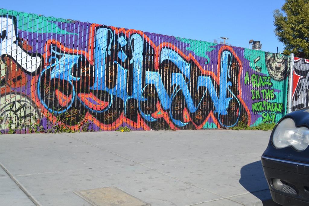 JIHAD, Graffiti, Street Art, Oakland, PI, OH,