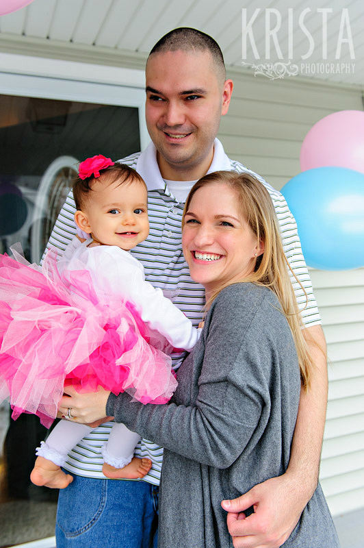 First Birthday Party Session