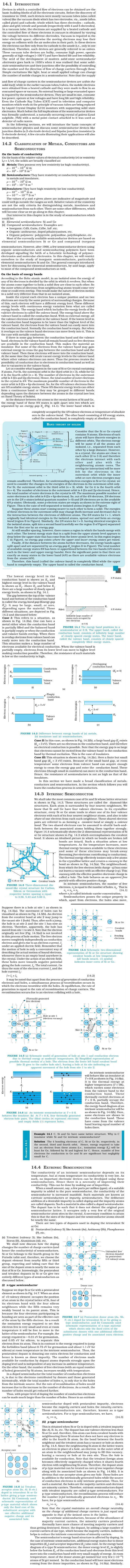 NCERT Class XII Physics Chapter 14 - Semiconductors Electronics