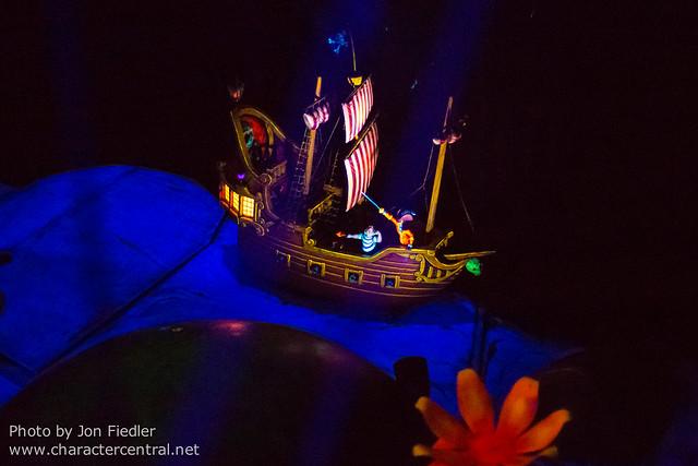 WDW Sept 2012 - Riding Peter Pan's Flight
