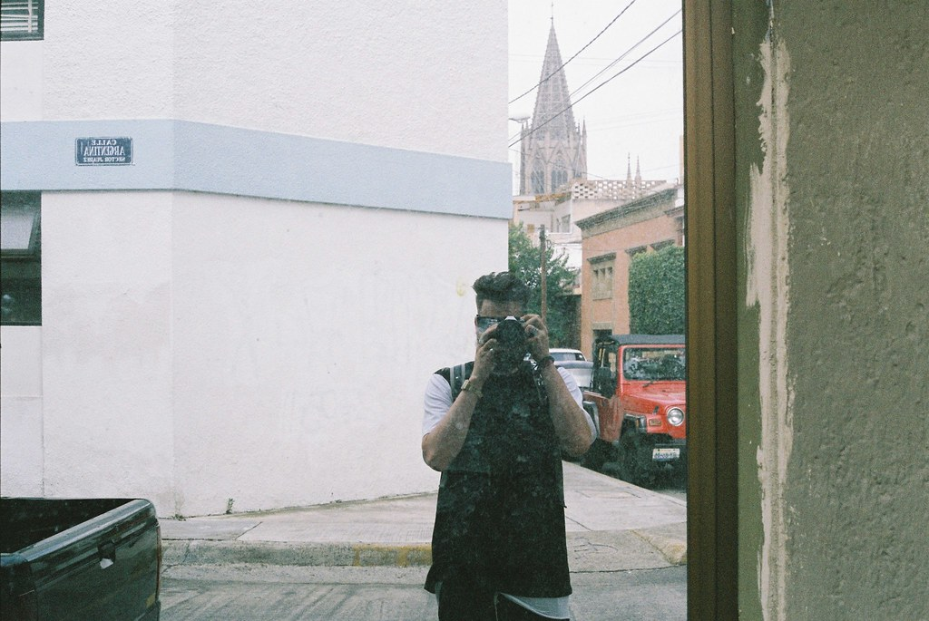 Tuukka13 - REFLECTIONS PHOTO SERIES – SELF-SHOTS ON THE STREETS - Guadalajara, Mexico - 08/2012