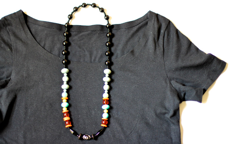 Outfit 3 - necklace & tshirt