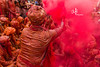 Red cloud | Holi at Braj