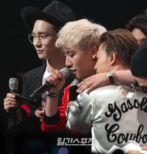 Big Bang - Mnet M!Countdown - 07may2015 - Isplus Joins - 02