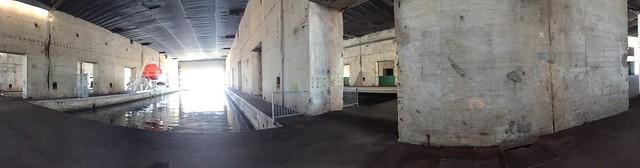 Intérieur de la base navale