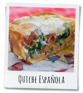 Een Spaanse mini-Quiche als tapa of voor in de picknickmand