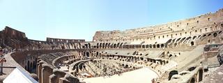 Image of Colosseum near Roma Capitale. colosseum roma rome italy italia ruins history