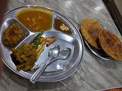 Parathe at Babu Ram Din Dayal in Parathewali Gali…