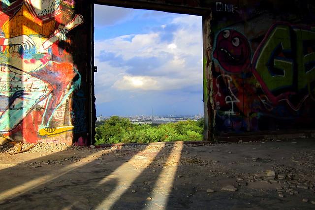 graffiti   teufelsberg . berlin