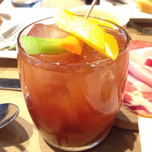 Having the Tuscan Bloody Mary