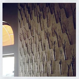 Nellcote accent wall