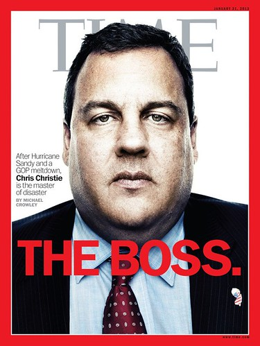 Chris Christie Time Magazine